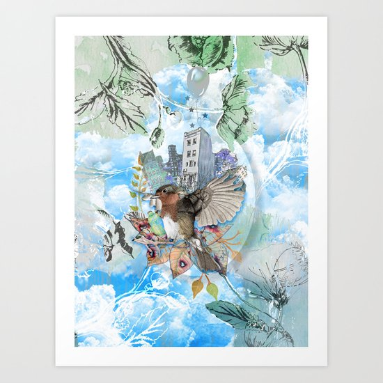 SOFT NATURE Art Print