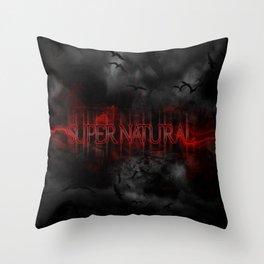 Supernatural darkness Throw Pillow