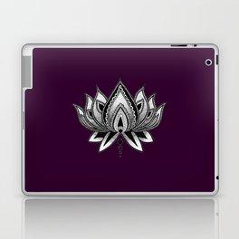 LOTUS FLOWER PURPLE Laptop & iPad Skin