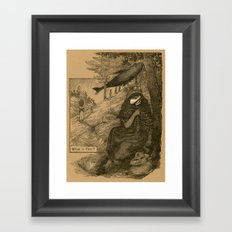 What is Fear? Framed Art Print