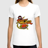 street fighter T-shirts featuring street fighter 25th anniversary by Hisham Al Riyami