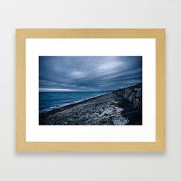 East Pier Framed Art Print