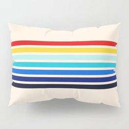 Classic 70s Style Retro Stripes - Inera Pillow Sham