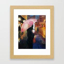Rainy SF Framed Art Print