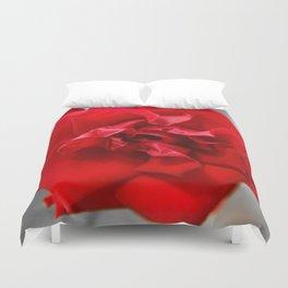 Rose in Red.... Duvet Cover