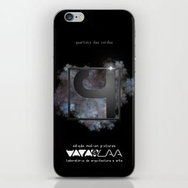 "Vaca - MP: ""Quarteto das Cordas"" iPhone Skin"