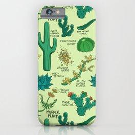 Native Desert Plants iPhone Case