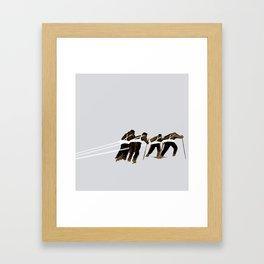 Haul Framed Art Print