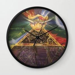 Wyrd Sister Wall Clock