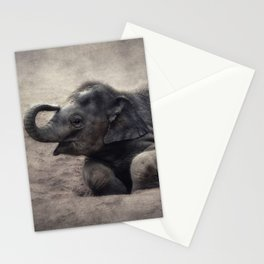 little elephant Stationery Cards