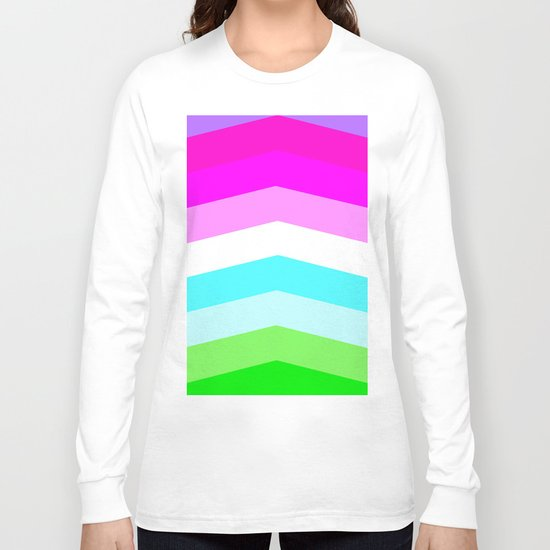 Pastel Rainbow Long Sleeve T-shirt