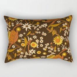 Australian Natives Wattle Gold Rectangular Pillow