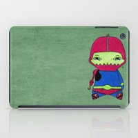 conan iPad Cases featuring A Boy - Trap-Jaw by Christophe Chiozzi