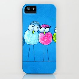 Love Birds 2 iPhone Case