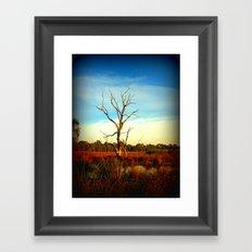 Cockatoo Tree Framed Art Print