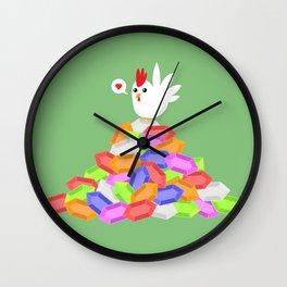 Rich Cucco Green Wall Clock