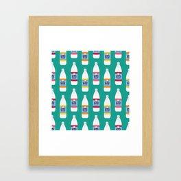 Polar Seltzer Framed Art Print
