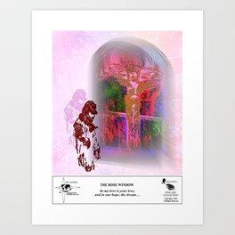 The Rose Window Art Print