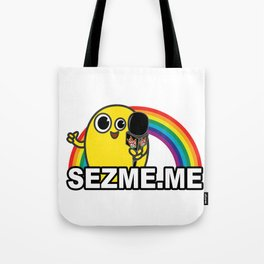 Mellow Rainbow Tote Bag