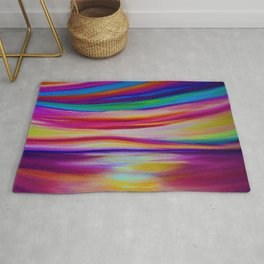 RAINBOW REFLECTIONS Rug