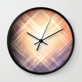 Space Lights Wall Clock