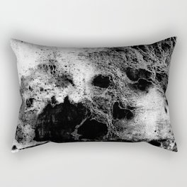 The Peggy / Charcoal + Water Rectangular Pillow