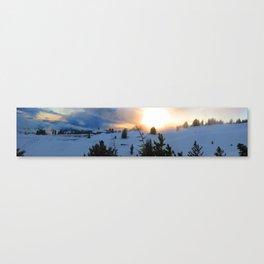 Timberline Canvas Print