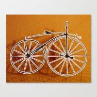 bike Canvas Prints featuring Bike by CrismanArt