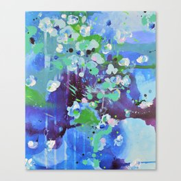 Blue affair Canvas Print