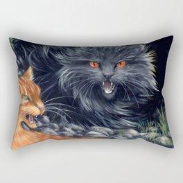 Yellowfang and Firepaw Rectangular Pillow