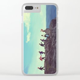 BTS Clear iPhone Case