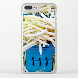 String Beans Clear iPhone Case