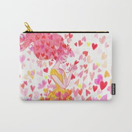 raining hearts Carry-All Pouch