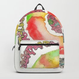 170321 Spring Watercolour 16 Backpack