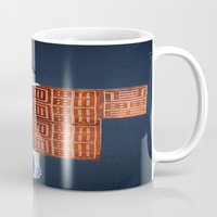 philosophy Mugs featuring Philosophy of a Geisha by Kristina Haritonova
