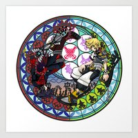 Kingdom Hearts Vanitas & Ventus Art Print
