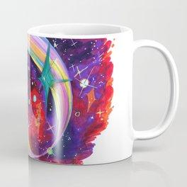 Surfing with Kirby Coffee Mug