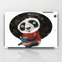 red panda iPad Cases featuring Panda by gunberk