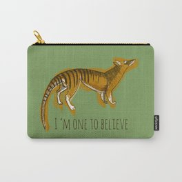 Believe in Thylacine Carry-All Pouch