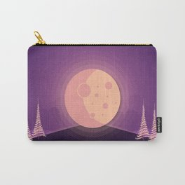Night time full moon Carry-All Pouch