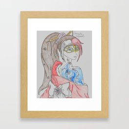 Feeling Fancy  Framed Art Print