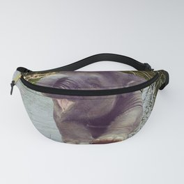 Elephant and Water Fanny Pack