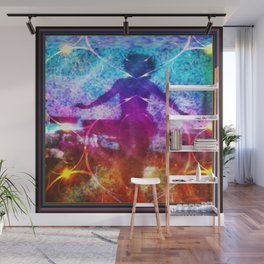 """Dancer In Shadows"" by surrealpete Wall Mural"