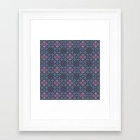 geo Framed Art Prints featuring GEO  by NENE W