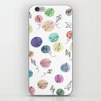 plane iPhone & iPod Skins featuring Plane by Infra_milk