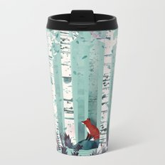 The Birches Metal Travel Mug