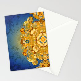 Batik 02 Stationery Cards