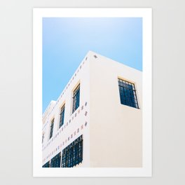 Marfa Brite Building Art Print