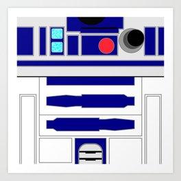 R2-D2 - Minimal Art Print