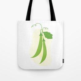 Snap peas Tote Bag
